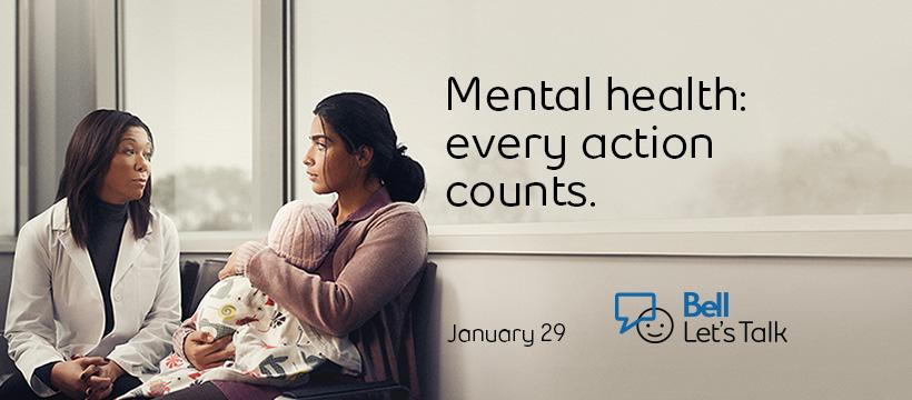 Bell Lets Talk Mental Health doctor image